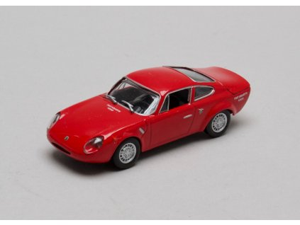 Fiat Abarth 1000 Bialbero 1963 červená 1:43 Champion