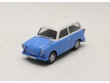 Trabant P50 Combi 1957 modro-bílá 1:43 Car Selection
