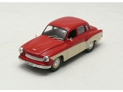 Wartburg 312 Limousine červená 1:43 Car Selection