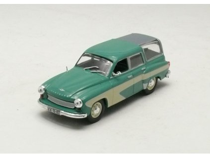 Wartburg 311 Camping zelená 1:43 Car Selection