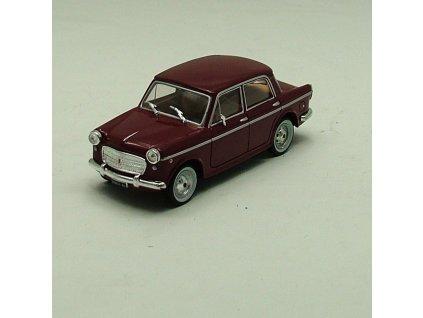 Fiat 1100 Special 1960 vínová 1:43 StarLine models