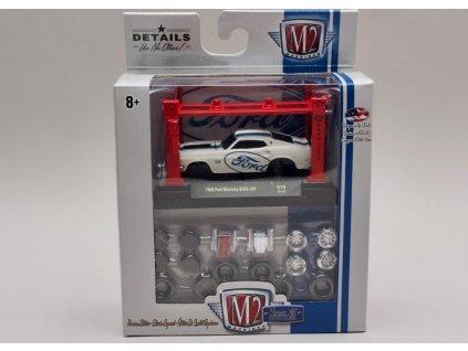 Ford Mustang Boss 429 1969 set-stavebnice 1:64 M2 Machines