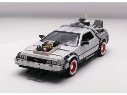De Lorean 1983 Back To The Future III 1:24 Welly
