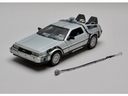 De Lorean 1983 Back To The Future I 1:24 Welly