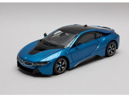 BMW i8 metalíza modrá 1 24 Rastar 56500 01