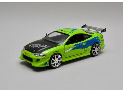 Mitsubishi Eclipse 1995 Brian's Rychle a zb. 1:24 Jada Toys