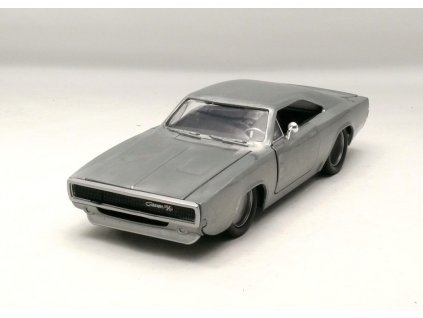 Dodge Charger R/T 1968 Rychle a zb. 1:24 Jada Toys