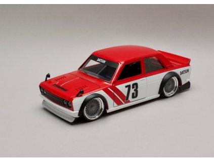 Datsun 510 1973 #73 Widebody červeno-bílá 1:24 Jada Toys