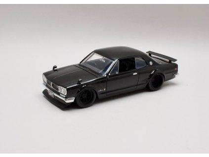 Nissan Skyline 2000 GT-R Brian's černá 1:24 Jada Toys
