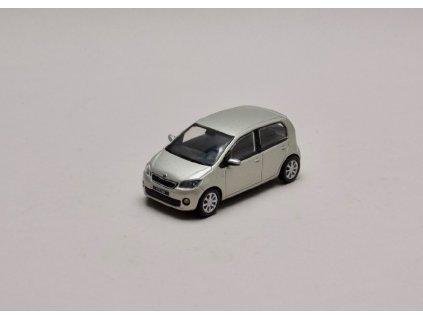 Škoda Citigo 5dv stříbrná Leaf Metalíza 1 43 Abrex 143AB 020AC 01