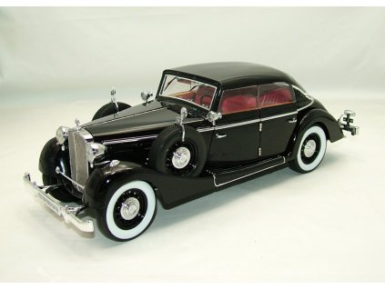 Maybach SW 38 Cabriolet 4-Turer 1937 černá 1:18 Signature