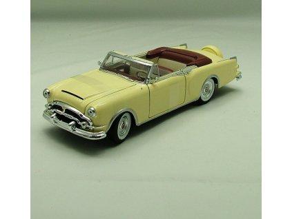 Packard Caribbean 1953 Convertible krémová 1:24 Welly