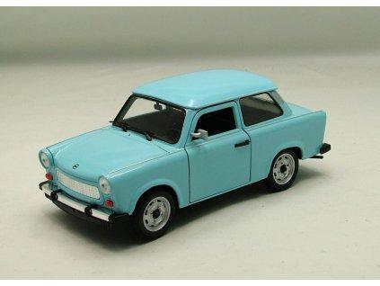 Trabant 601 modrá 1:24 Welly