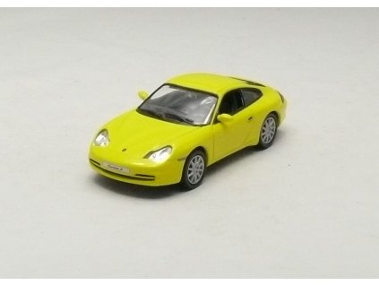 Porsche 911 Carrera 4 Coupe 2001 žlutá 1:43 Car Selection