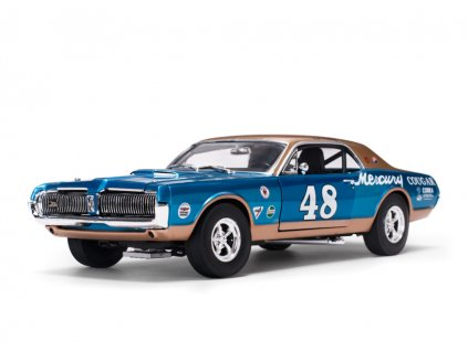 Mercury Cougar Racing 1967 # 48 Scott Hackenson 1:18 Sun Star