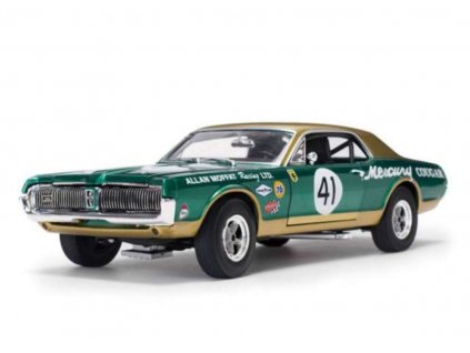Mercury Cougar Racing 1967 # 41 Allan Moffat 1:18 Sun Star