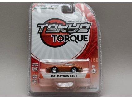 Datsun 240Z 1971 červená 1:64 Greenlight