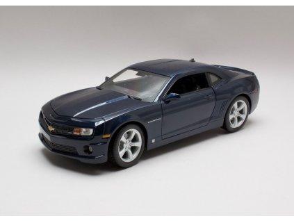 Chevrolet Camaro SS RS 2010 modrá 1:18 Maisto 31173