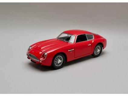 Aston Martin DB4GT Zagato 1961 červená 1:18 Yat Ming