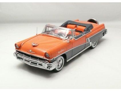 Mercury Montclair 1956 open Convertible 1:18 Sun Star Platinum