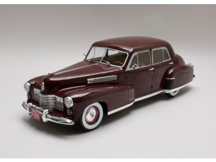 Cadillac Fleetwood series 60 Special Sedan 1941 tm.červená 1:18 MCG