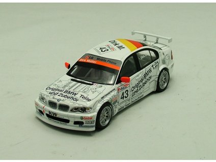 BMW 320i ETCC 2003 Barcelona # 43 1:43 Minichamps