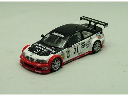BMW M3 GTR 24h Daytona 2004 # 21 1:43 Minichamps