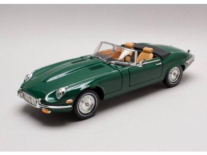Jaguar E-Type 1971 zelená 1:18 Lucky Die Cas