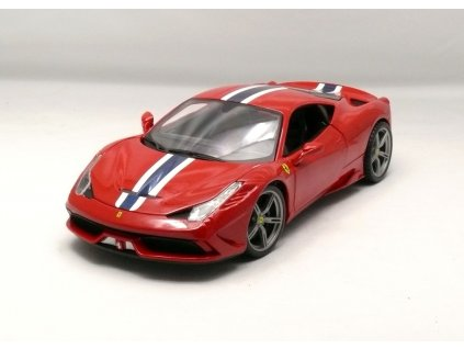 Ferrari 458 Speciale červená 1:18 Bburago