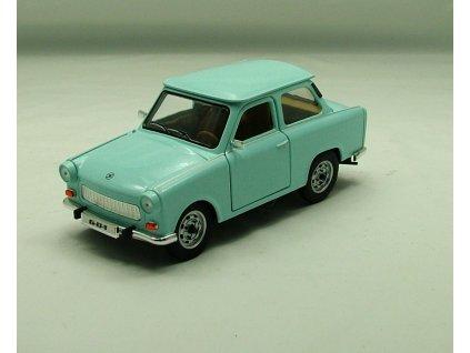 Trabant 601 1963 sv.modrá 1:24 Yat Ming