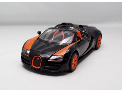 Bugatti 16.4 Grand Sport Vitesse 2014 cerno oranzova 1 18 Rastar 43900 01