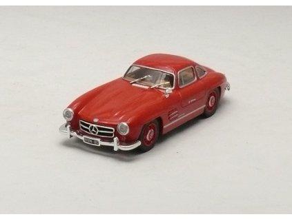 Mercedes-Benz 300 SL 1954 červená 1:43 Schuco