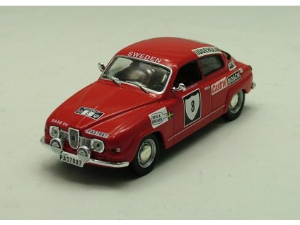 Saab 96 V4 Rally Sweden 1972 #8 1:43 Champion