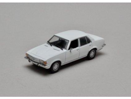 Opel Rekord D 2,1 1973-1977 bílá 1:43 Car Selection