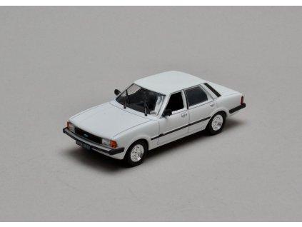 Ford Taunus MK III 1981 bílá 1:43 Car Selection