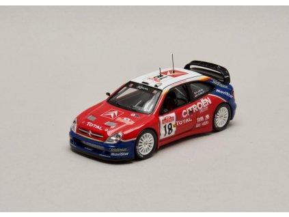 Citroen Xsara WRC #18 vítěz Rally Sanremo 2003 1:43 IXO