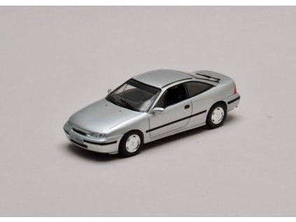 Opel Calibra V6 1991 - 1997 stříbrná 1:43 Champion