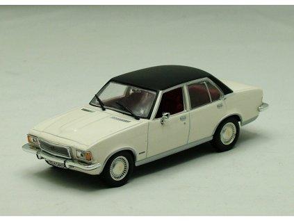 Opel Rekord D 2,1 Liter 1973 bílo-černá 1:43 Champion