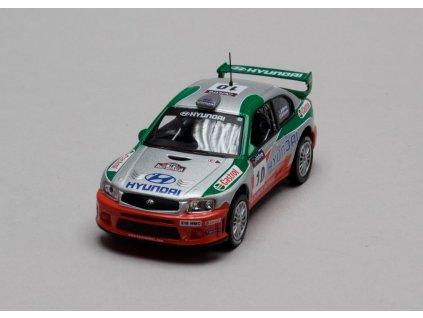 Hyundai Accent WRC2 # 10 Australia 2001 1:43 Champion