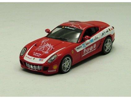 Ferrari F599 GTB Panamericana 2006 červená 1:43 IXO