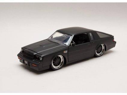 Buick Grand National 1987 černá matná 1:24 Jada Toys