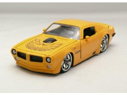 Pontiac Firebird 1972 žlutá 1:24 Jada Toys