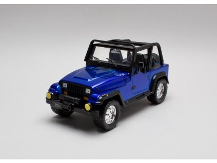 Jeep Wrangler 1992 modrá 1:24 Jada Toys