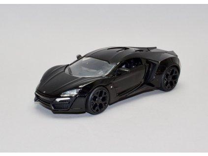 Lykan HyperSport 2014 W Motors černá 1:24 Jada Toys