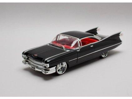 Cadillac 1959 Coupé Deville Hard top černá1:24 Jada Toys