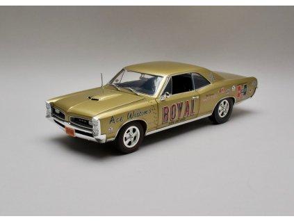 "Pontiac GTO 1966 ""ace wilsons royal"" Geeto Tiger Drag zlatá 1:18 ACME"