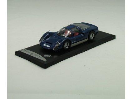 Porsche 906 Carrera 6 1965 modrá 1:43 Solido
