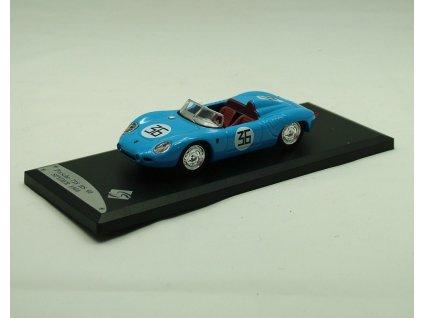 Porsche 718 RS 60 Spyder 1960 # 36 modrá 1:43 Solido