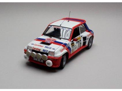 Renault 5 Turbo # 76 Monte Carlo 1982 1:18 Universal Hobbies