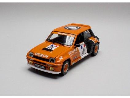 Renault 5 Turbo # 41 Europcar 1981 1:18 Universal Hobbies